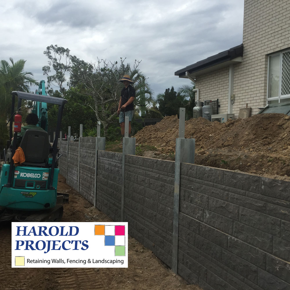 Retaining Walls Builder   Contractor Brisbane, Harold Projects